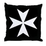 Maltese Cross Pillow