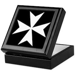 Maltese Cross Keepsake Box