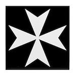 Maltese Cross Drink Coaster