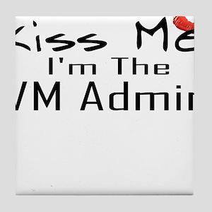 Kiss Me VM Admin Tile Coaster