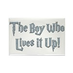 The Boy Who Lives It Up Rectangle Magnet (10 pack)