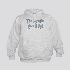The Boy Who Lives It Up Kids Hoodie