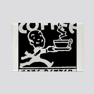 Fresh Coffee Rectangle Magnet