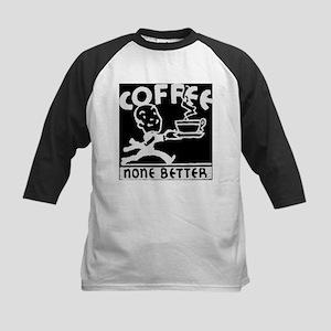 Fresh Coffee Kids Baseball Jersey
