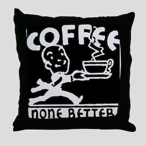 Fresh Coffee Throw Pillow
