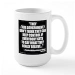 Government Control Large Mug