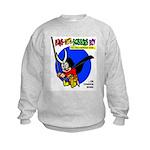 Runs-With-Scissors Boy Sweatshirt Without Fear