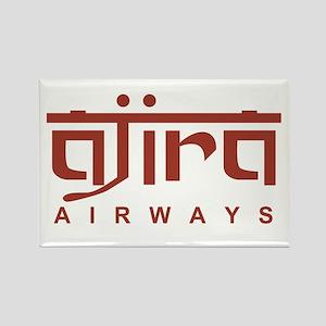 Ajira Airways Rectangle Magnet