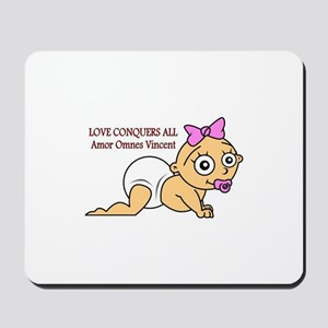 Love Conquers All Mousepad