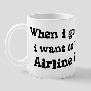 Be An Airline Pilot Mug