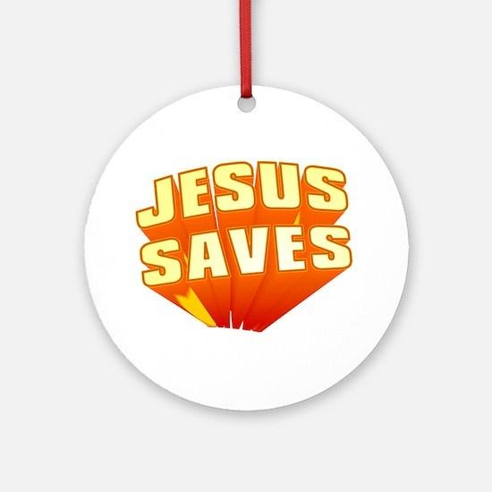Jesus Ornament (Round)