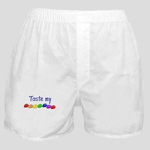 Taste my rainbow! Boxer Shorts