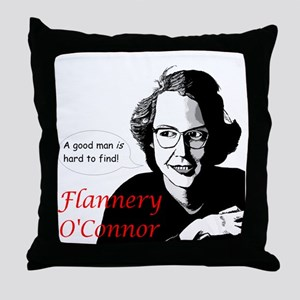 Flannery O'Connor Good Man Throw Pillow