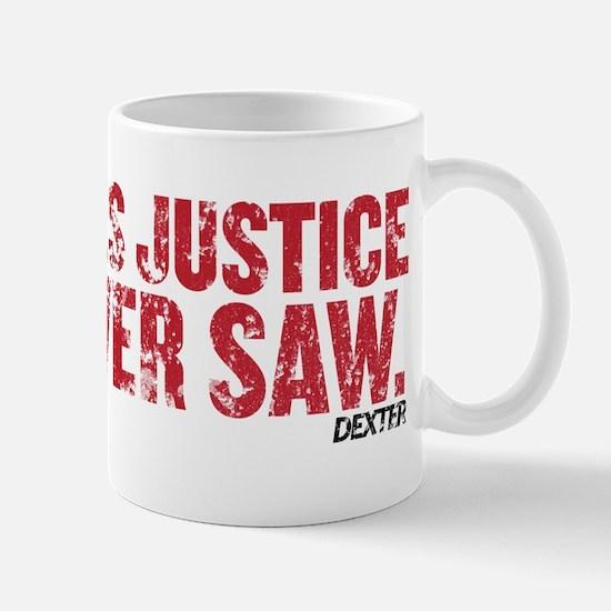 Power Saw Justice Mug