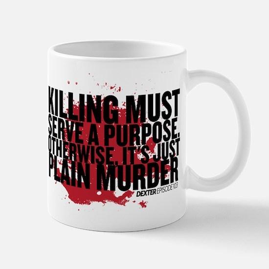 Just Plain Murder Mug