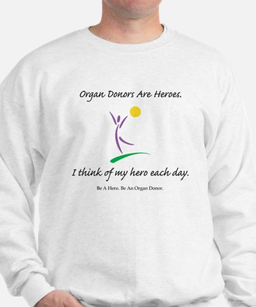 Inside-Out Donor Thanks Sweatshirt