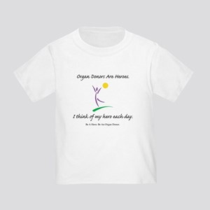 Inside-Out Donor Thanks Toddler T-Shirt