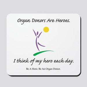 Inside-Out Donor Thanks Mousepad