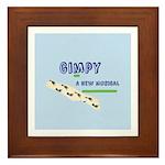 Gimpy Logo Framed Tile