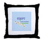 Gimpy Logo Throw Pillow