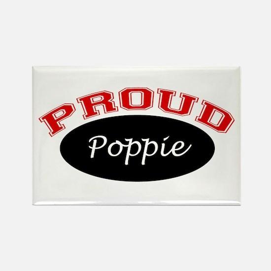 Proud Poppie Rectangle Magnet