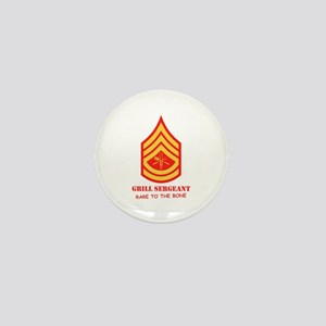 Grill Sgt. Mini Button