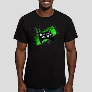 Graffiti Box Pad Men's Fitted T-Shirt (dark)
