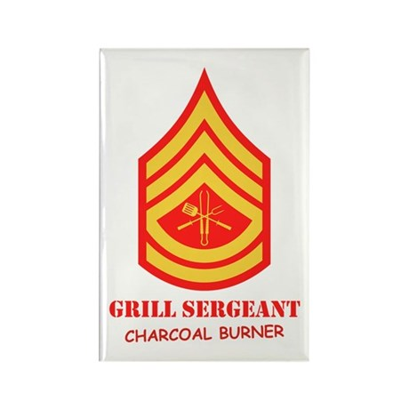 Grill Sgt. Rectangle Magnet (10 pack)