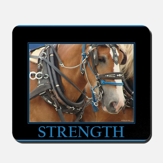 Parade Horse - Strength Mousepad