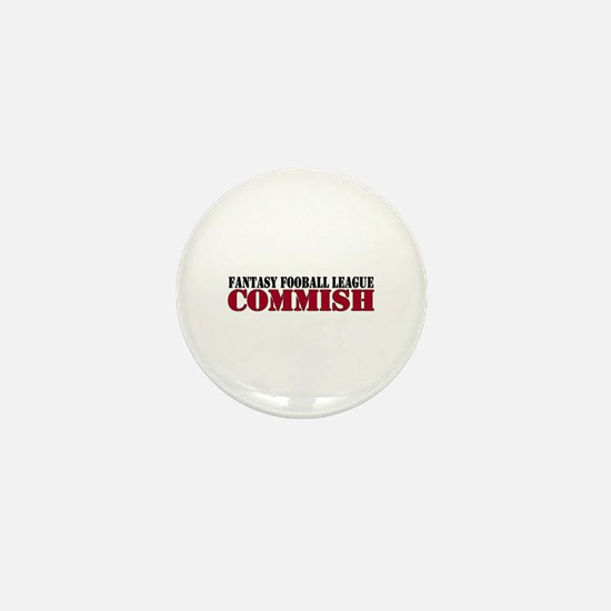 Fantasy Football Commish Mini Button