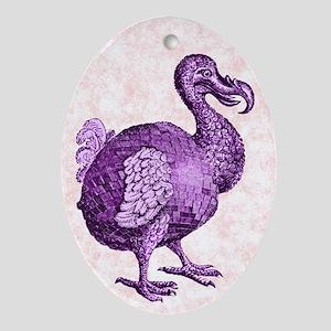 Disco Dodo Oval Ornament