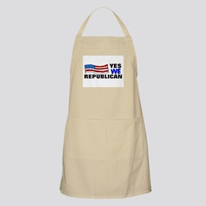 republican yes we can BBQ Apron