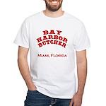Bay Harbor Butcher Miami FL White T-Shirt