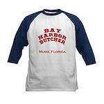 Bay Harbor Butcher Miami FL Kids Baseball Jersey