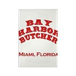Bay Harbor Butcher Miami FL Rectangle Magnet