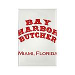 Bay Harbor Butcher Miami FL Rectangle Magnet (10 p