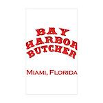 Bay Harbor Butcher Miami FL Rectangle Sticker 10