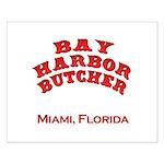 Bay Harbor Butcher Miami FL Small Poster
