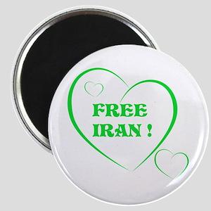 FREE IRAN Magnet