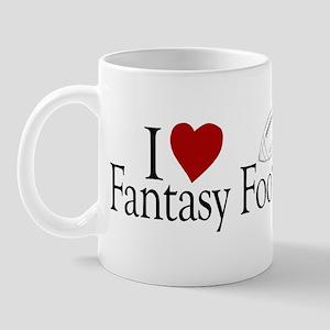 I Love Fantasy Football Mug