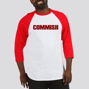 Commish (Red) Baseball Jersey