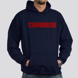 Commish (Red) Hoodie (dark)