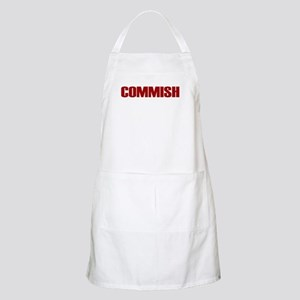 Commish (Red) BBQ Apron