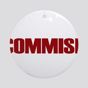 Commish (Red) Ornament (Round)