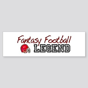 Fantasy Football Legend Bumper Sticker