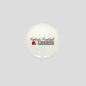 Fantasy Football Legend Mini Button
