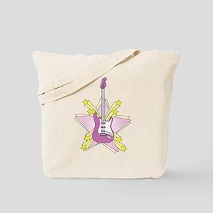 'Guitar Star' Tote Bag