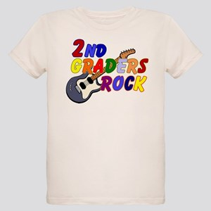 2nd Graders Rock Organic Kids T-Shirt