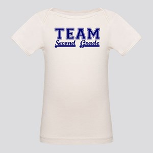 Team Second Grade Organic Baby T-Shirt