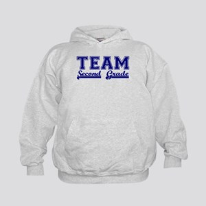 Team Second Grade Kids Hoodie